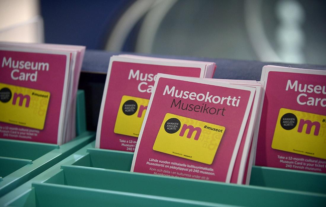 Museokortti käy yli 240 museoon. Kuva: Emmi Korhonen / Lehtikuva