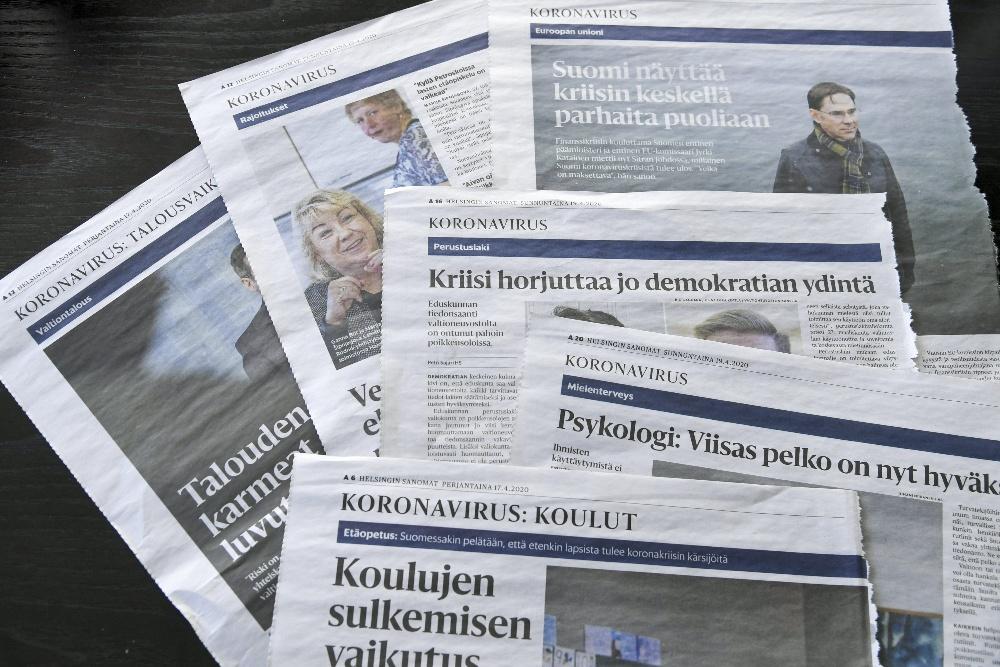 Sanomalehdet ja koronauutiset-1